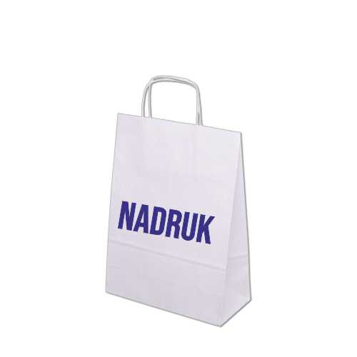 torby papierowe białe